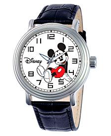 Disney Mickey Mouse Men's Vintage Silver Alloy Watch