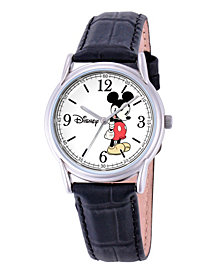 Disney Mickey Mouse Men's Cardiff Silver Alloy Watch