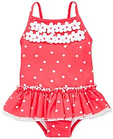 Rouge Dot Baby Girls Swimsuit