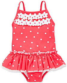 Little Me Rouge Dot Baby Girls Swimsuit