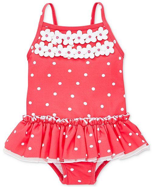 377237f53f Little Me Rouge Dot Baby Girls Swimsuit & Reviews - Swimwear - Kids ...