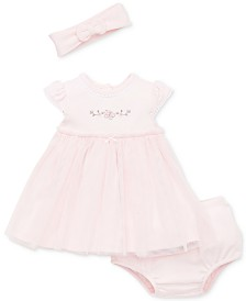 Little Me Baby Girls 2-Pc. Headband & Dress Set