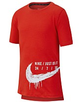 92617884950e Nike Big Boys Graphic-Print T-Shirt
