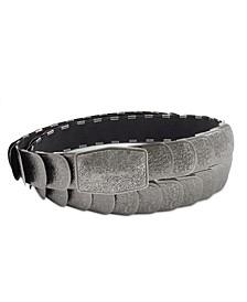 Accessories Textured Stretch Metal Belt