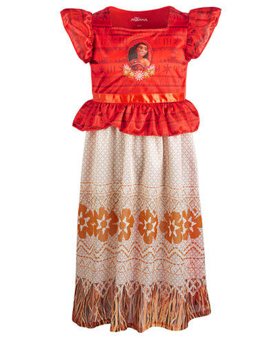 AME Little & Big Girls Moana Nightgown