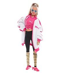 Barbie Puma Doll White Jacket