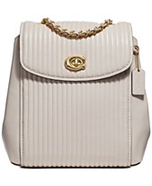 COACH Parker Convertible Backpack in Quilted Leather b9c5a8d183561
