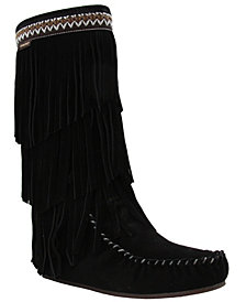 Lamo Women's Virginia Tall Fringe Boots