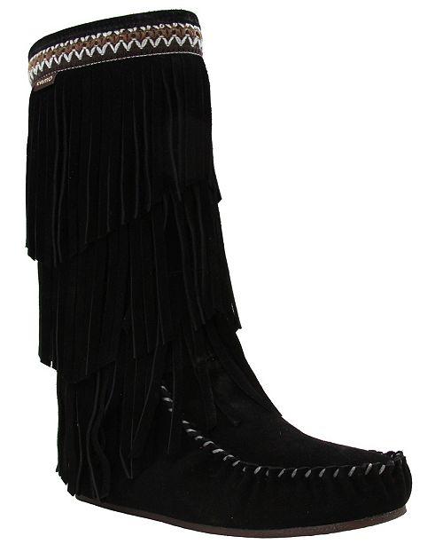 Lamo Women's Virginia Tall Fringe Boots