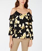 2069eddca50 Cold Shoulder Tops: Shop Cold Shoulder Tops - Macy's