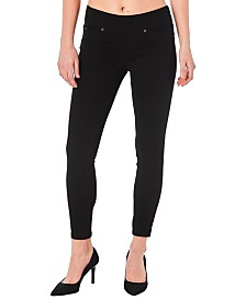 Nicole Miller New York Pull-On Skinny Jeans