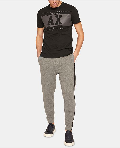 A|X Armani Exchange Armani Exchange Men's Stripe Joggers
