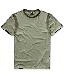 G-Star RAW Men's Motac-X Pieced Colorblocked T-Shirt