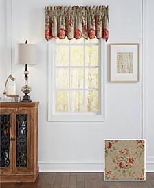 Fresco Flourish Scalloped Window Valance