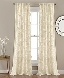 Ruffle Diamond Curtain Sets