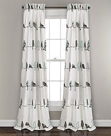 "Rowley Birds 52"" x 84"" Curtain Set"