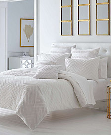 Trina Turk Freya White Comforter Set, Full/Queen