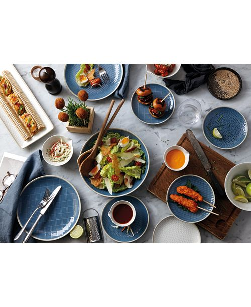 Gordon Ramsay Royal Doulton Exclusively for Maze Grill Hammered Blue Dinnerware Collection