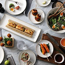Royal Doulton Exclusively for Maze Grill Hammer White Dinnerware Collection