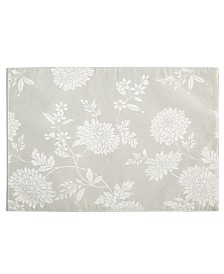 "Homewear Spring Jubilee Taupe 13"" x 19"" Placemats, Set of 4"