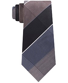 Kenneth Cole Reaction Men's Ted Grid Slim Tie