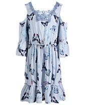 d84d5228aa0 Epic Threads Little Girls Butterfly-Print Dress