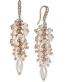 I.N.C. Shaky Cluster Drop Earrings, Created for Macy's