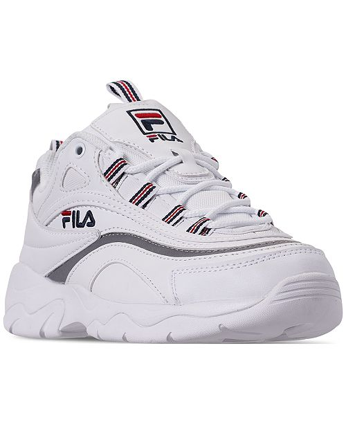 Fila Women s Ray Casual Athletic Sneakers from Finish Line   Reviews ... 97a38522f32