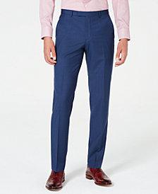 HUGO Men's Modern-Fit Plaid Pants