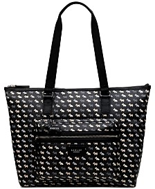 Radley London Multi Dog Ziptop Tote