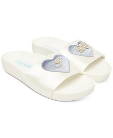Blue by Betsey Johnson Tiana Pool Slides