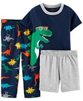Carter s Toddler Boys 3-Pc. Dinosaur Pajamas Set f2e1854da