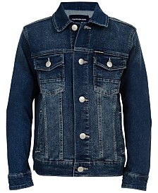 Calvin Klein Big Boys Denim Jacket