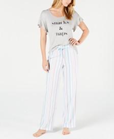 Jenni Knit Pajama Separates, Created fro Macy's