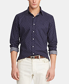 Polo Ralph Lauren Men's Slim Fit Poplin Shirt