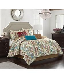 Autumn Paisley 7-Piece Comforter Sets