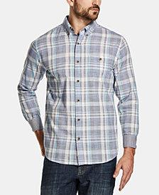 Weatherproof Men's Woven Dobby Shirt