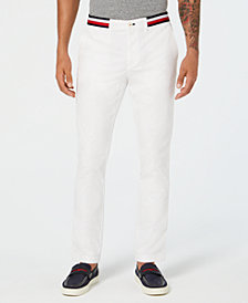 Tommy Hilfiger Men's Slim-Fit Stretch Chinos, Created for Macy's