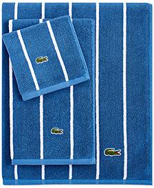 "LAST ACT! Lacoste Sport Stripe 30"" x 52"" Bath Towel"