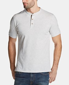 Weatherproof Vintage Men's Melange Henley Shirt
