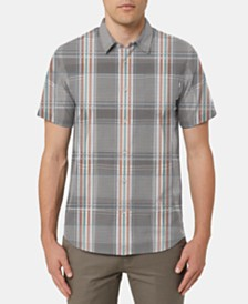 O'Neill Men's Scratch Plaid Shirt