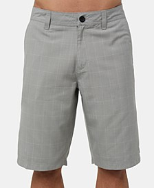 Men's Westmont Relaxed-Fit Yarn-Dyed Plaid Shorts