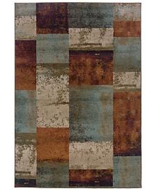 "CLOSEOUT! Oriental Weavers  Adrienne 4147A Multi/Multi 9'10"" x 12'9"" Area Rug"