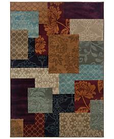 "CLOSEOUT! Oriental Weavers  Adrienne 4198A Multi/Multi 6'7"" x 9'6"" Area Rug"