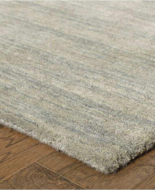 "Oriental Weavers Aniston 27108 Gray/Gray 2'6"" x 8' Runner Area Rug"