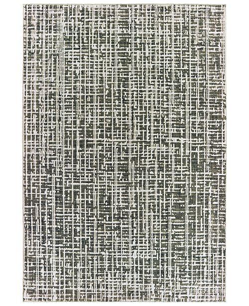 """Oriental Weavers Bowen 2066W Gray/Ivory 5'3"""" x 7'6"""" Area Rug"""