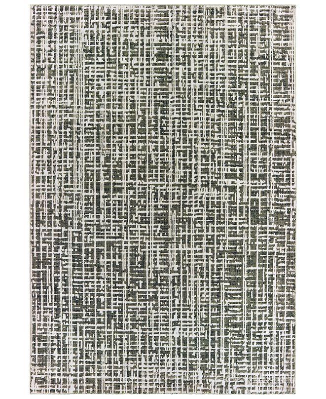 """Oriental Weavers Bowen 2066W Gray/Ivory 7'10"""" x 10'10"""" Area Rug"""