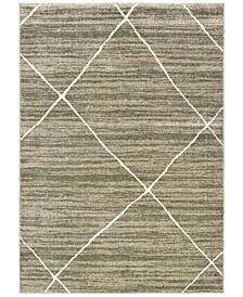 Carson 9661A Gray/Ivory 2' x 3' Area Rug
