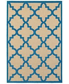 """Oriental Weavers Cayman 660 3'10"""" x 5'5"""" Indoor/Outdoor Area Rug"""