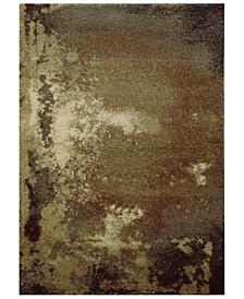 "Covington Shag 2061W Tan/Gray 9'10"" x 12'10"" Area Rug"